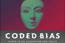 """Movie image and title: """"Coded Bias: There is no algorithm for truth"""""""